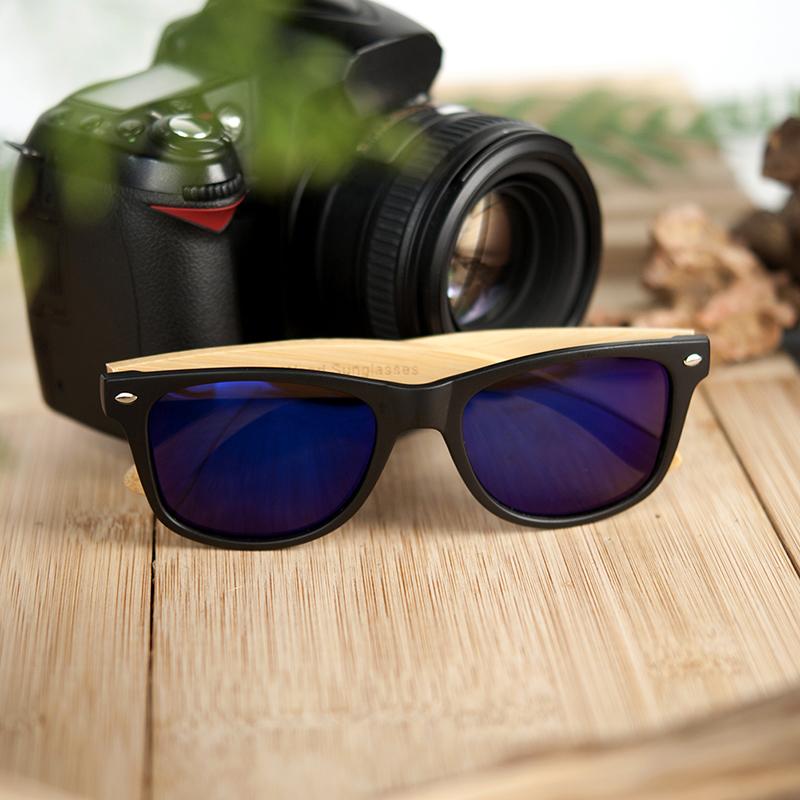 Ochelari de soare Bobo Bird CG004 lentila albastra