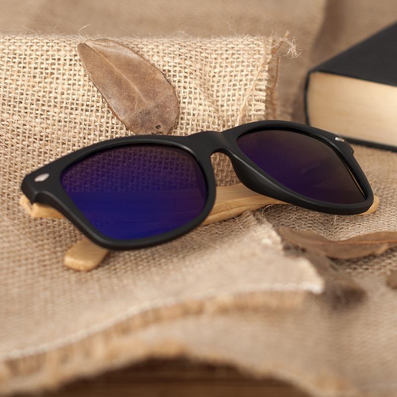 Ochelari de soare Bobo Bird cu lentila albastra