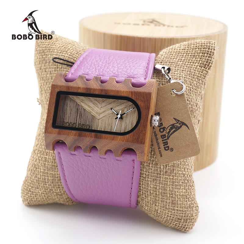 Ceas din lemn dreptunghiular