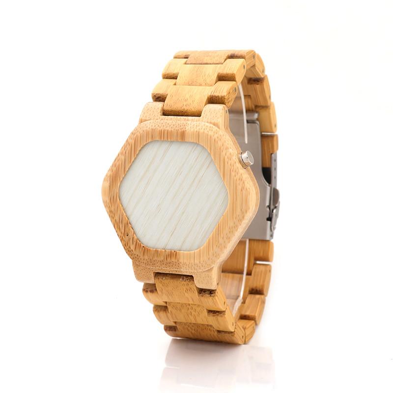 Ceas din lemn Bobo Bird led E03