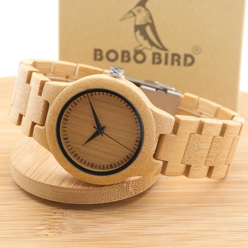 Ceas din lemn Bobo Bird L28