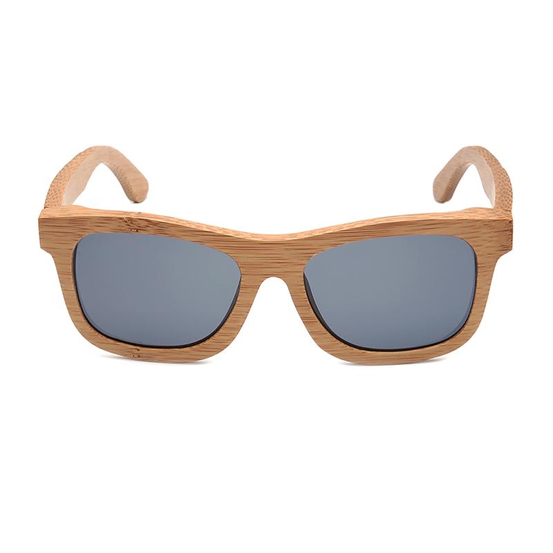 Ochelari de soare din lemn Bobo Bird gri