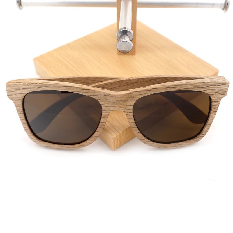 Ochelari de soare din lemn Bobo Bird AG007 lentila maro