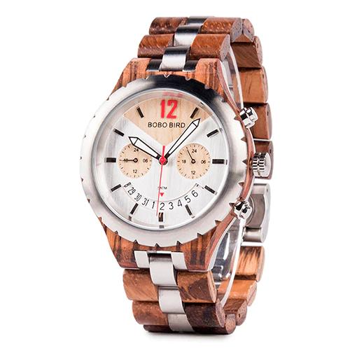 Ceas din lemn Bobo Bird Q28-2