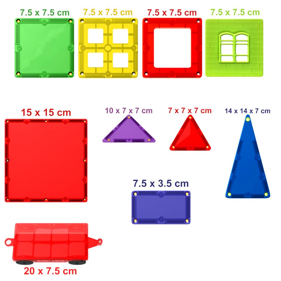 Kit constructie magnetic